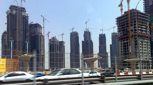 Bauboom in New-Dubai
