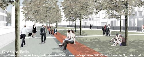 Zwei Parks am Friedrichswerder Berlin