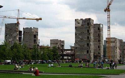 Abriss Palast der Republik Berlin Schlossplatz