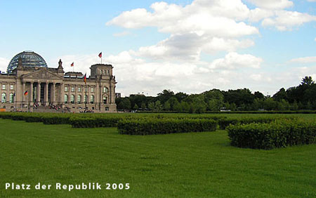 Platz der Republik, Berlin 2005